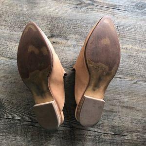 Halogen Shoes - Halogen Corbin Mule Size 4M, Wheat Leather